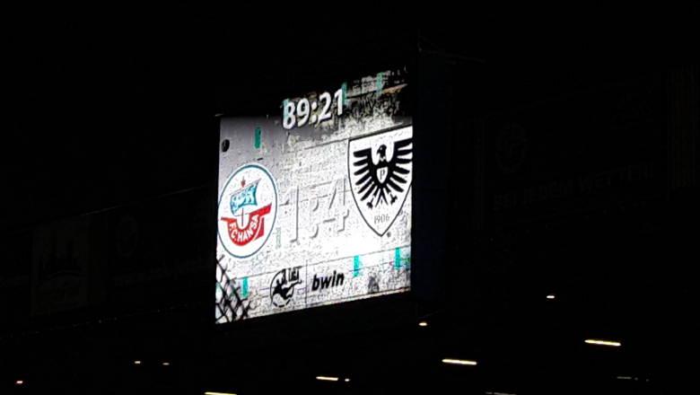 1:4 Klatsche für Hansa Rostock gegen Preußen Münster