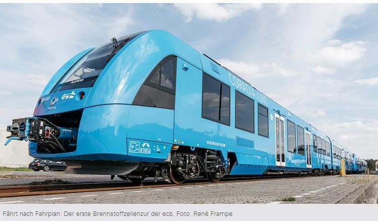 Erste Brennstoffzellenzüge in Deutschland