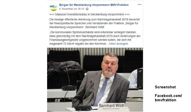 """Schwerin: Landtagsabgeordnete von """"Bürger für MV"""" wechseln zu Freien Wählern"""