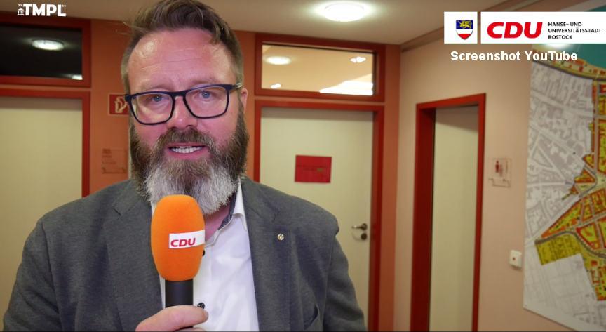 Rostock: FDP und CDU wollen Dänen Claus Ruhe Madsen als nächsten Oberbürgermeister