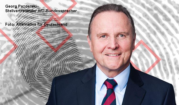 """Gefälschte Polizeistatistiken: Georg Pazderski (AfD) kritisiert """"vorsätzliche Desinformation"""""""