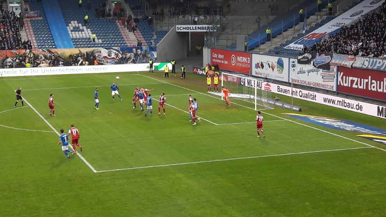 Hansa Rostock gewinnt 4:1 gegen Kaiserslautern