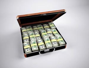 Aktenkoffer Geld