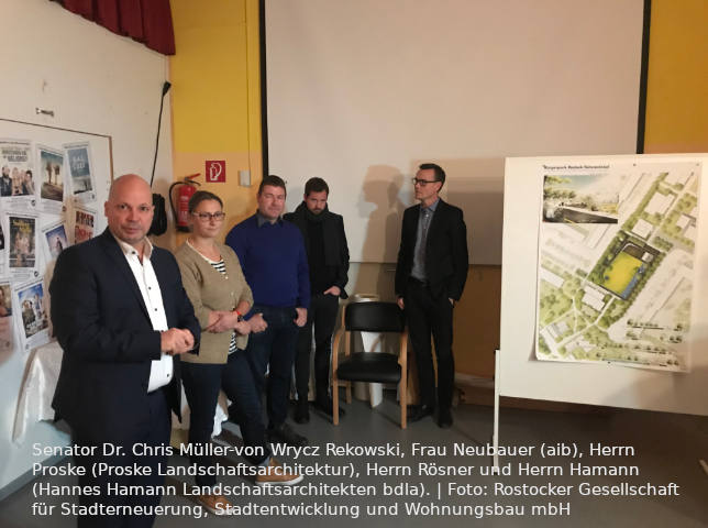 Rostock: Jury ermittelt besten Entwurf für Bürgerpark in Toitenwinkel