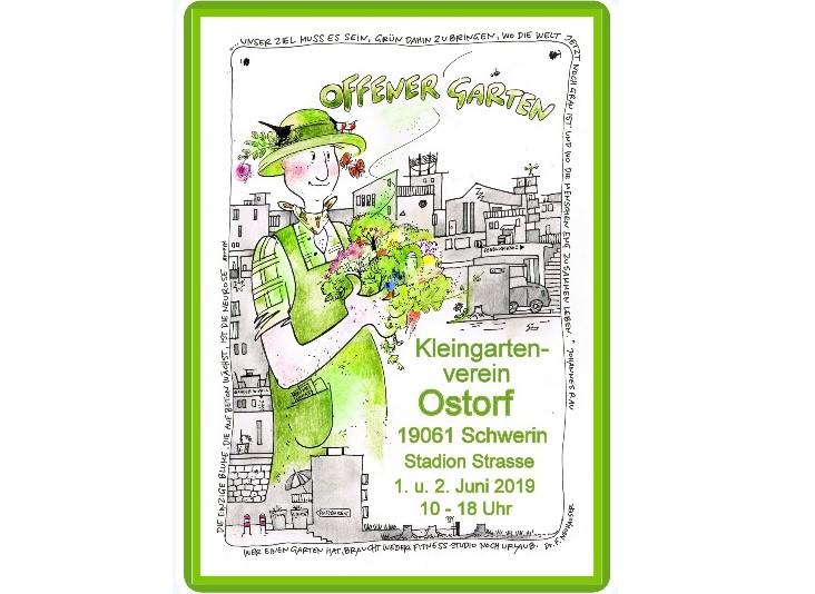 Kleingartenverein Ostorf lädt ein