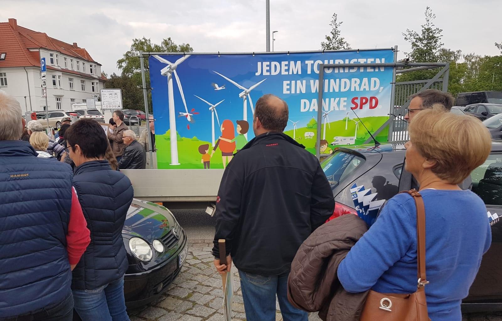 Windkraftkritiker setzen Zeichen gegen die Energiewende
