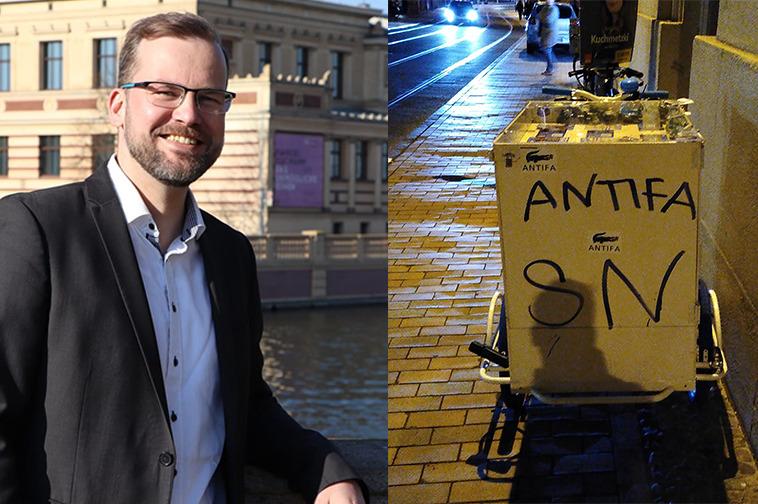 Schwerin: Angriff auf das Demokratiemobil der AfD