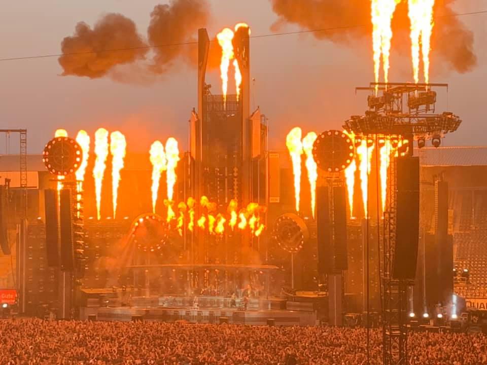 Konzertbericht: Rammstein rockte Rostock