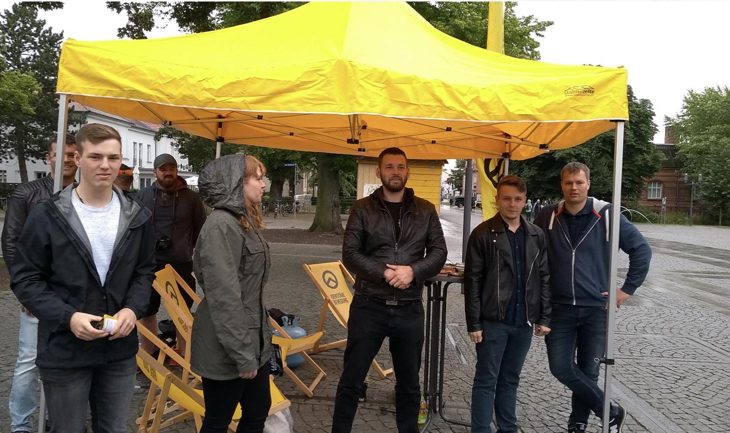 """""""IB-Zone"""" und Linksextreme in Greifswald"""