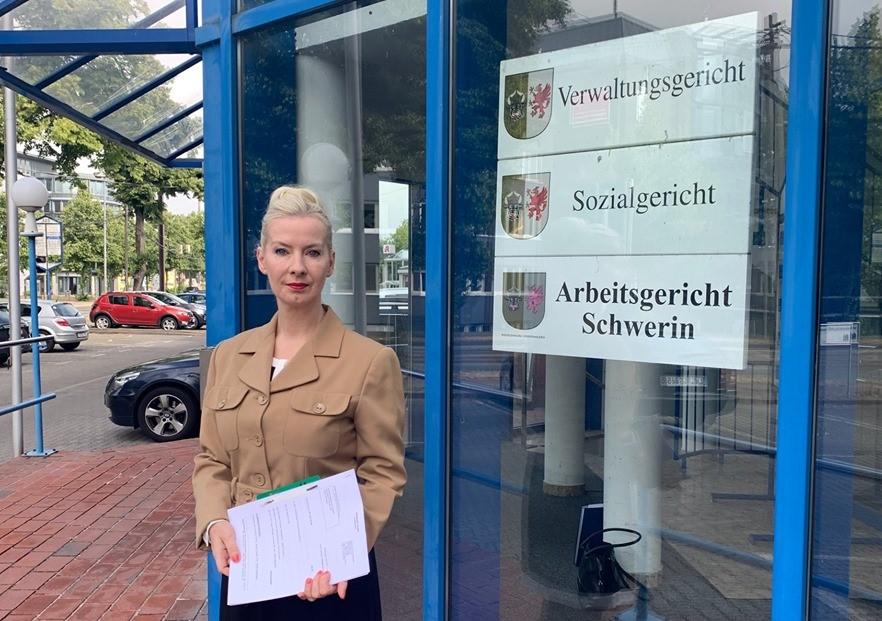Moscheebau-Klage: Schweriner AfD klagt noch mal hinterher