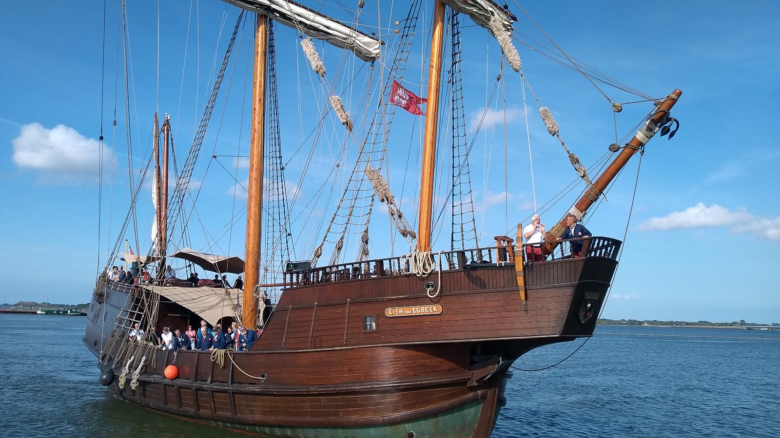 Seglarträff in Stralsund 2019