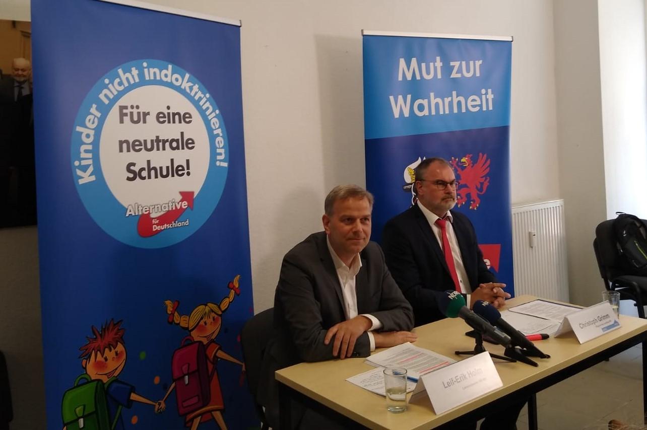 Müller verbietet AfD-Neutralitätsplattform: Holm weist ihn zurecht