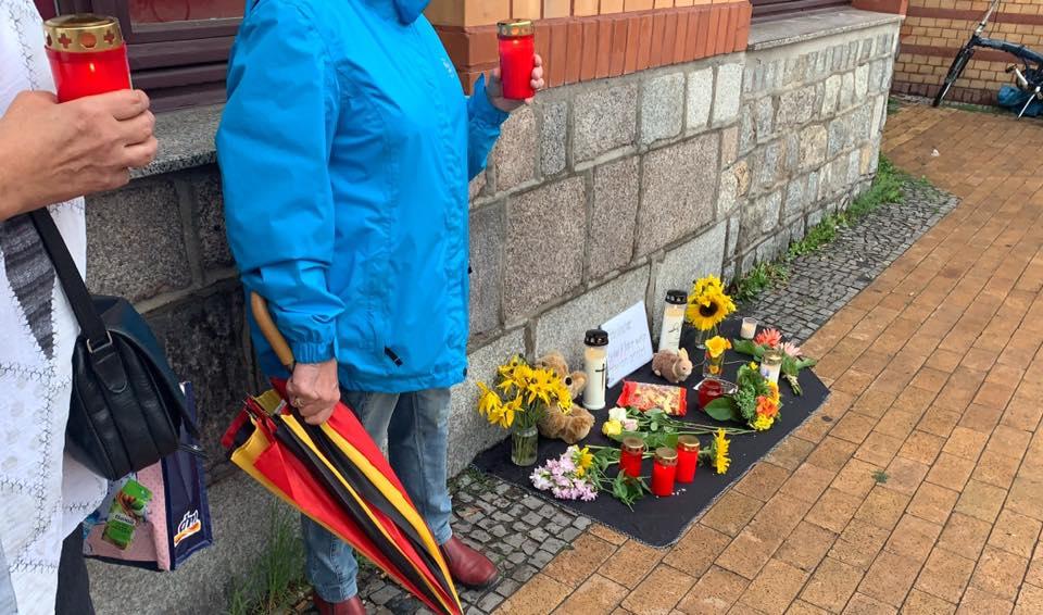MV trauert um den ermordeten Jungen von Frankfurt