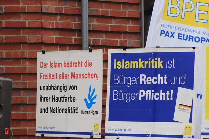 Stralsund: Islamkritiker Stürzenberger hielt Kundgebung ab