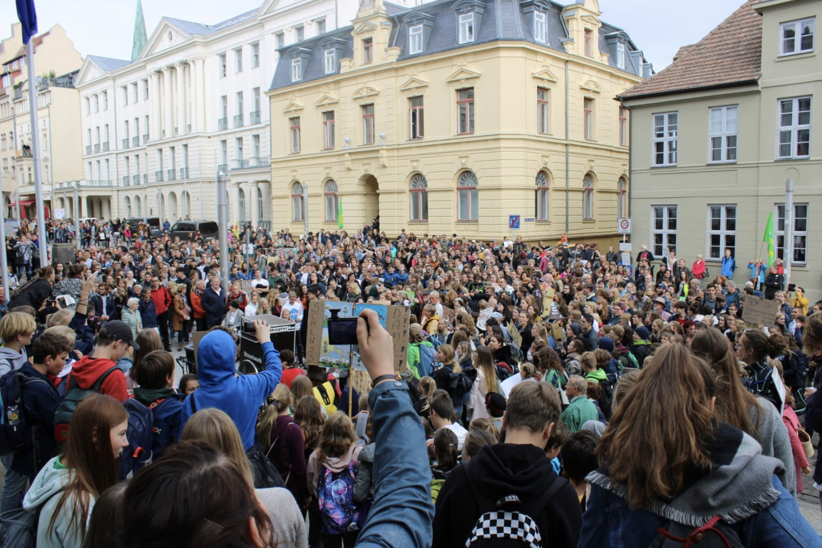Fridays for Future Demo in Schwerin