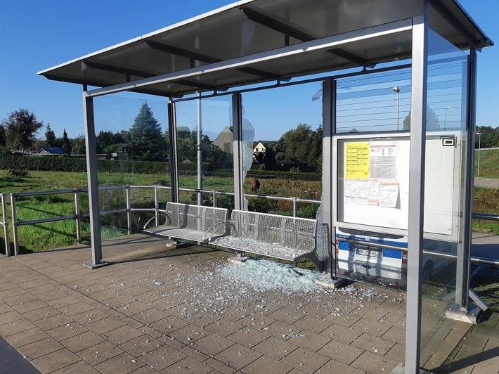 Subzin-Liessow: Zerstörung des Bahnhofhäuschens