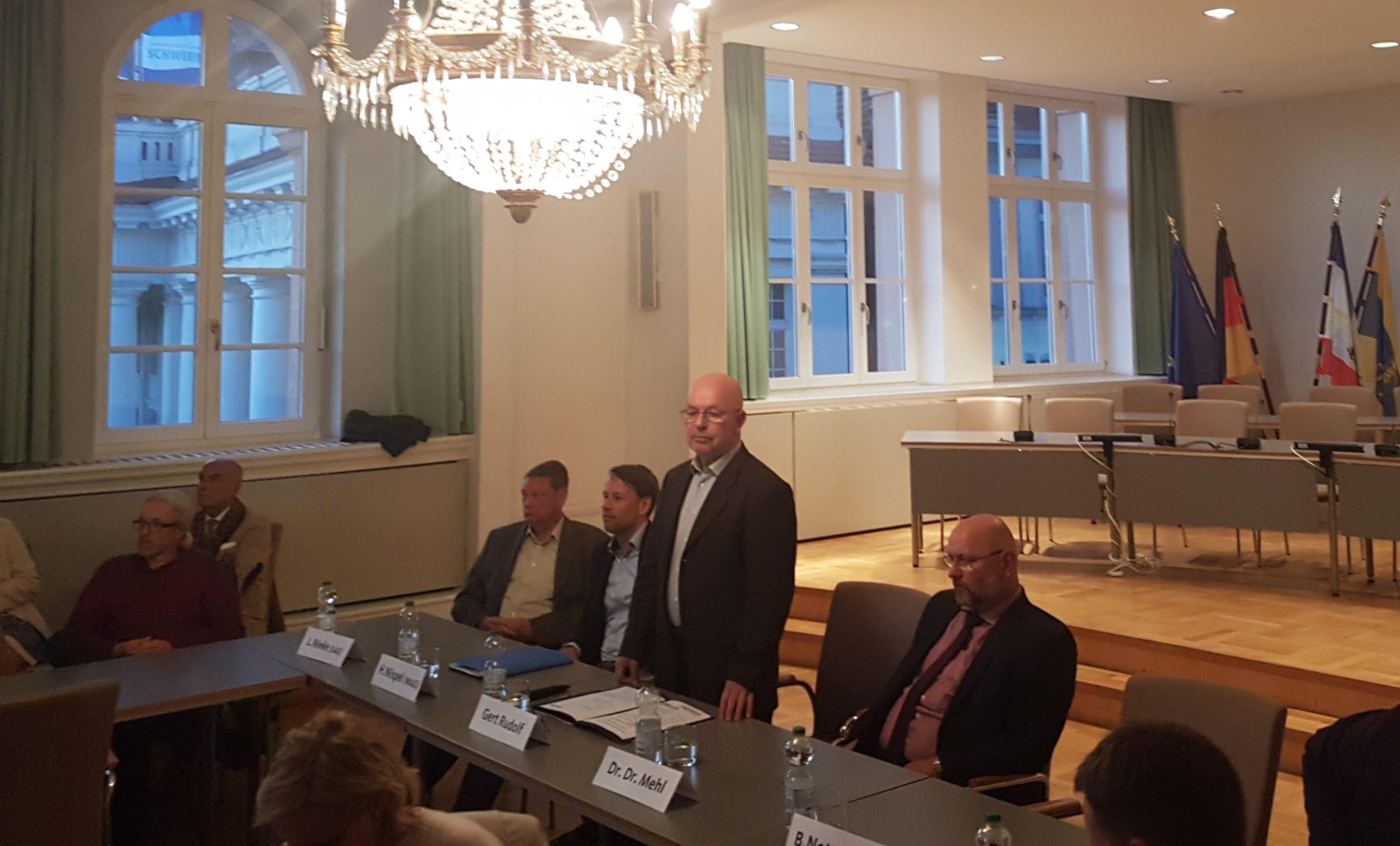 Entwässerungskonzept in Schwerin: CDU lädt ein