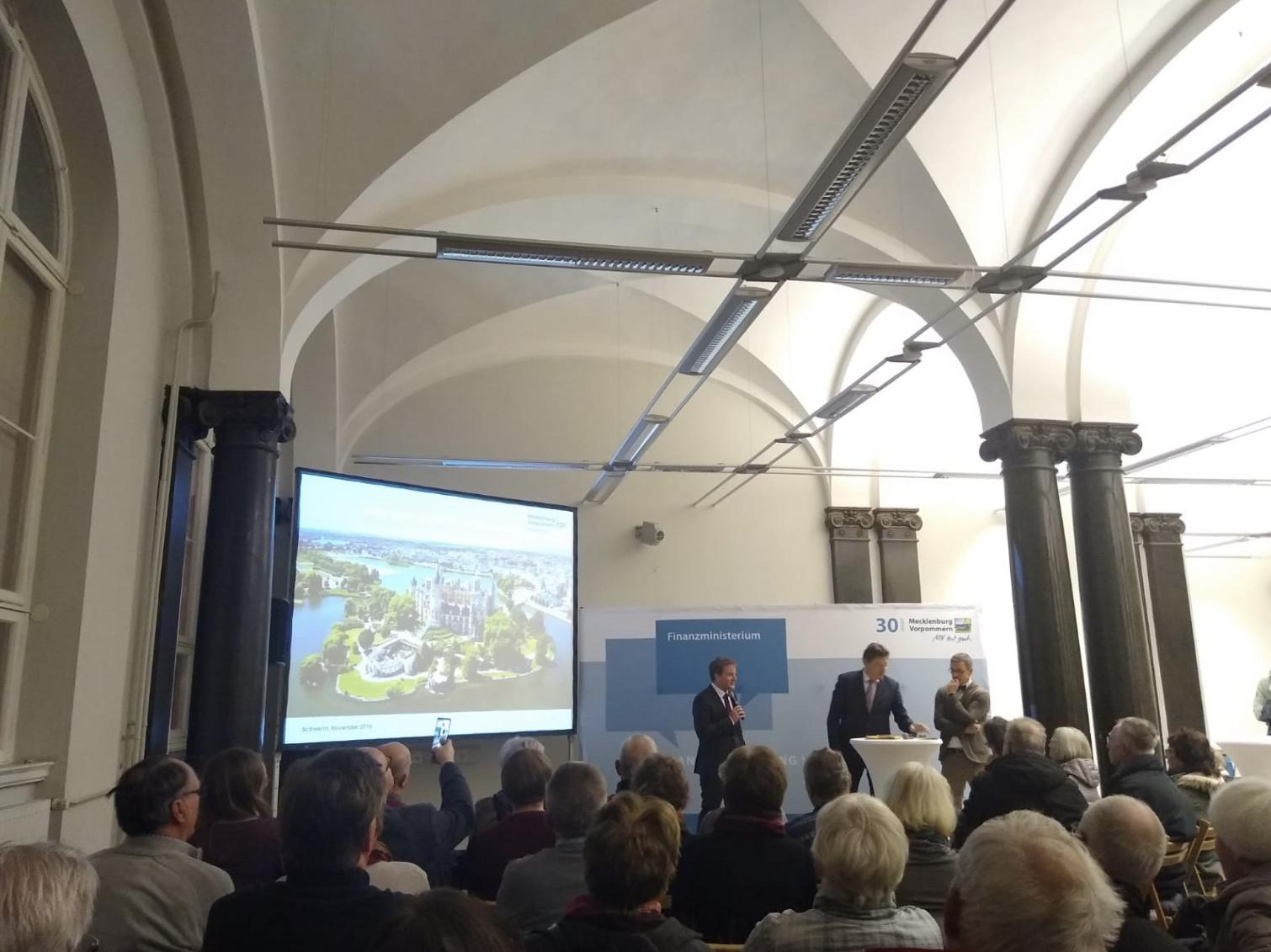 Bürgerforum: Alte Post und Stadtplanung in Schwerin
