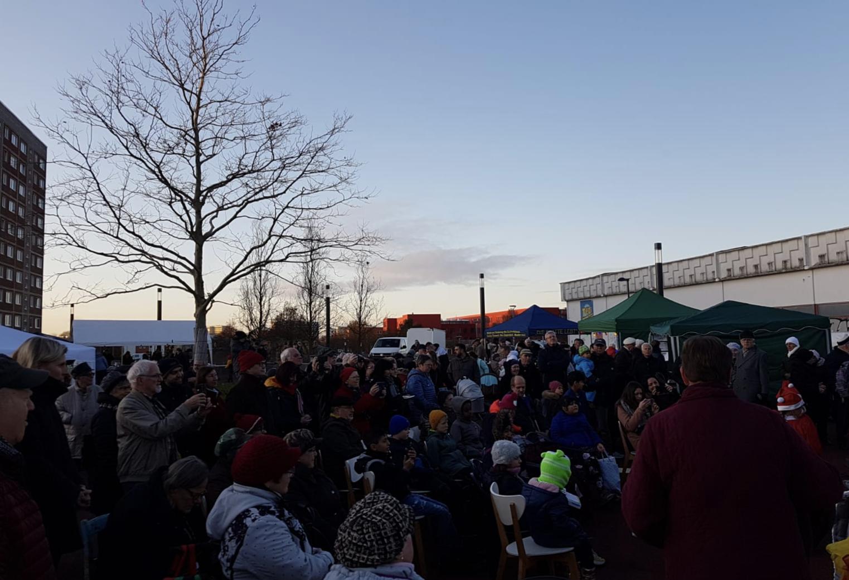 Schwerin: Weihnachtsmarkt auf dem Dreesch