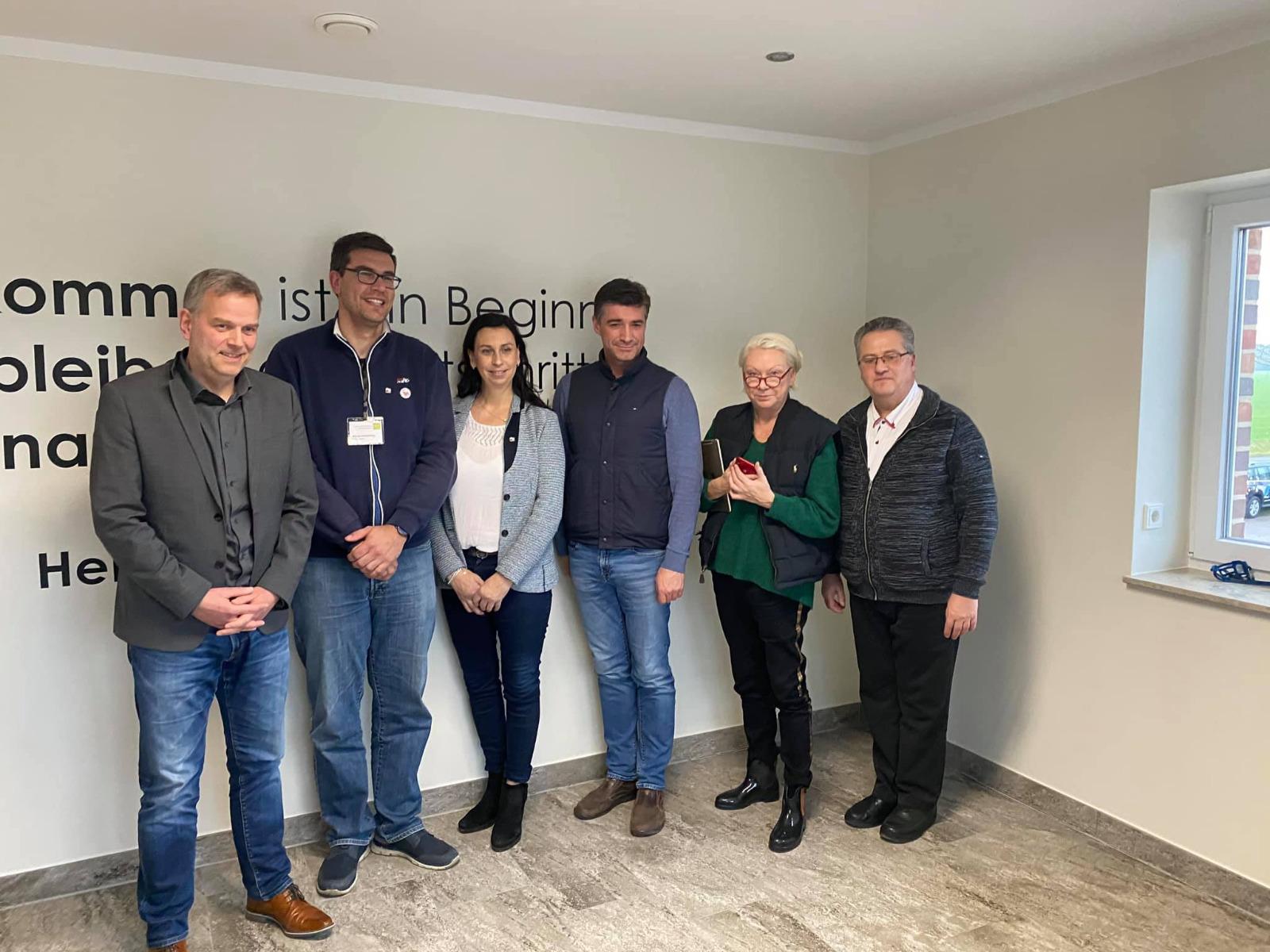 Jarmen: Bundestagsabgeordnete bei Bauern