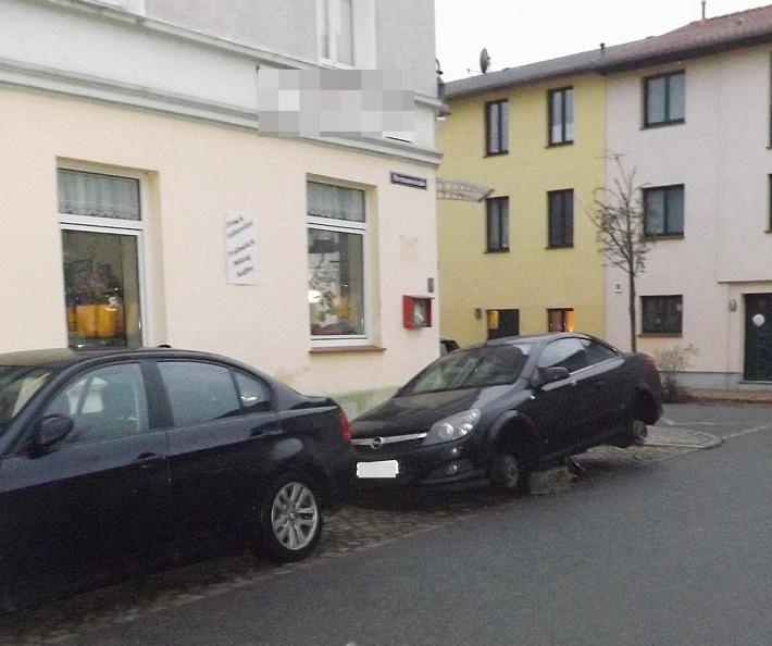 Schwerin: Kurioser Räderdiebstahl