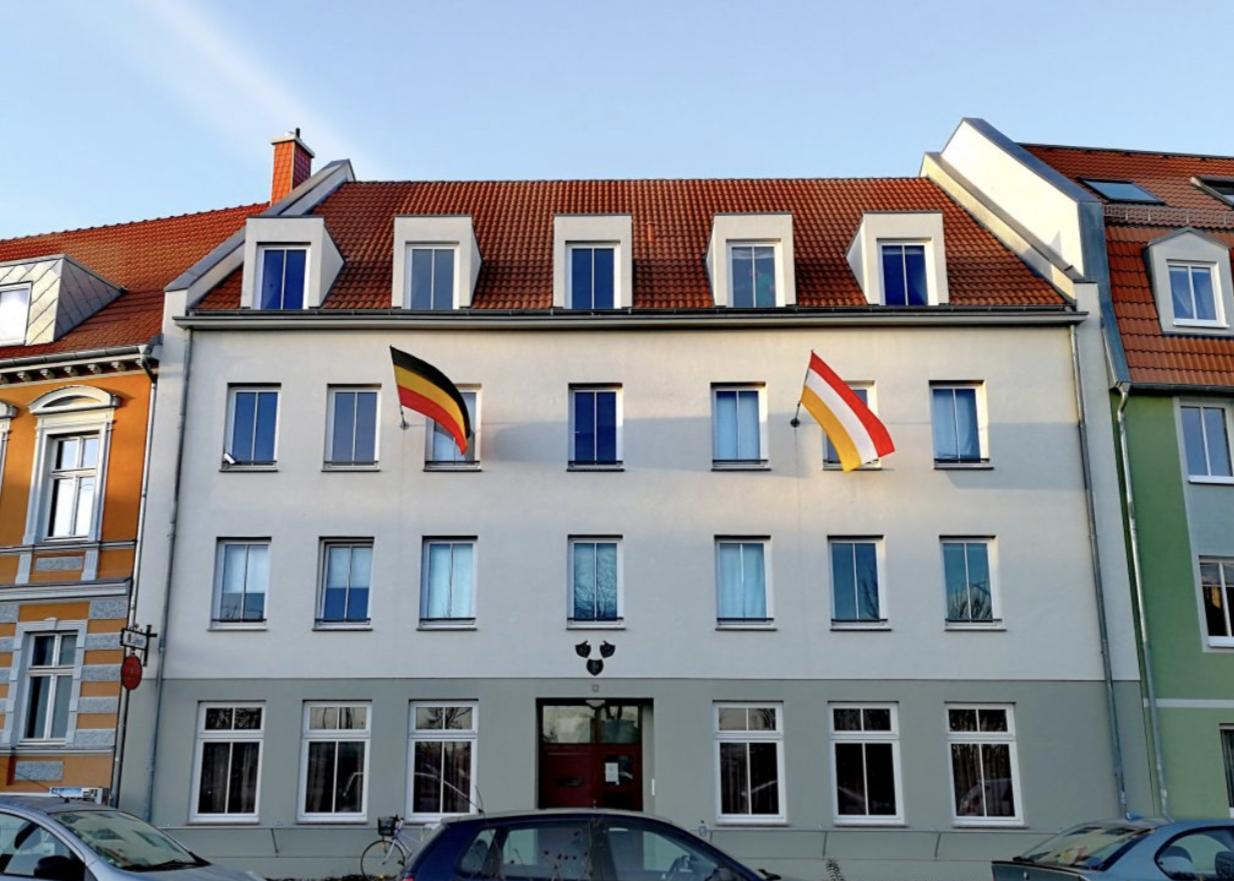 Anschlag auf Burschenhaus in Greifswald
