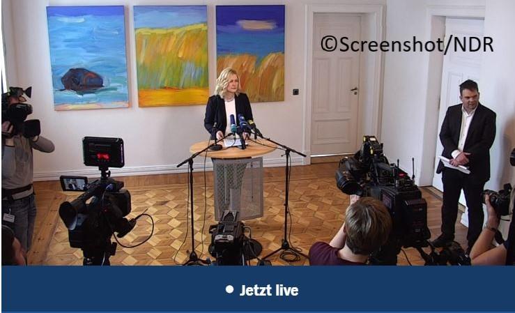 Schwesig Pressekonferenz: Corona lähmt MV