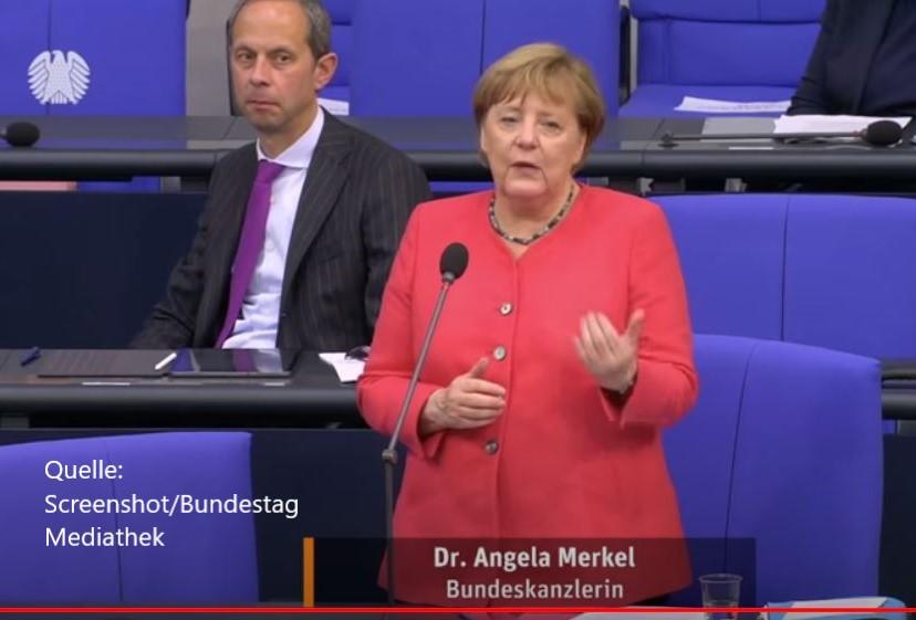 Merkel wird von AfD-Mann Holm vorgeführt
