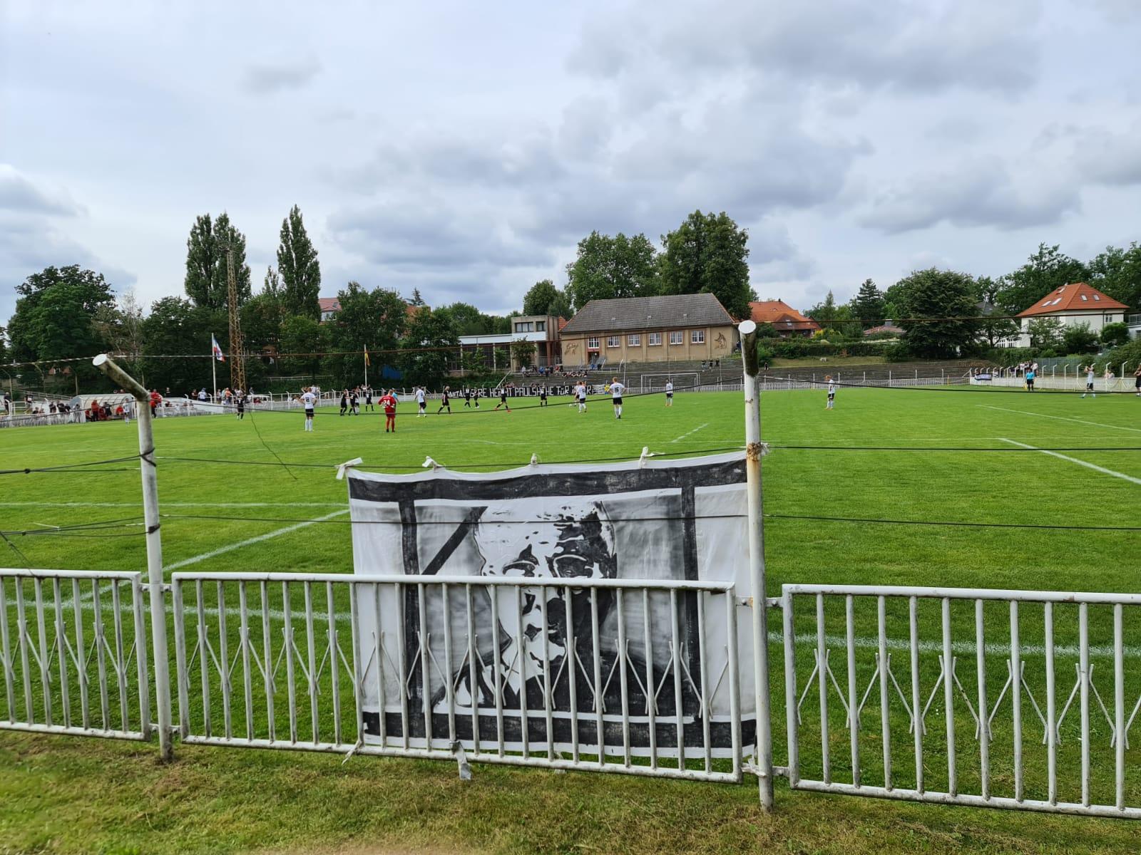 Testspiel nach Corona-Abstinenz: Dynamo Schwerin gegen SV Reinfeld Preußen