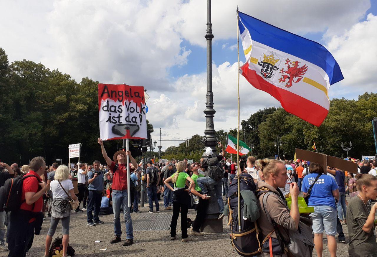 Was treibt MVler zur Berliner Corona-Demo?