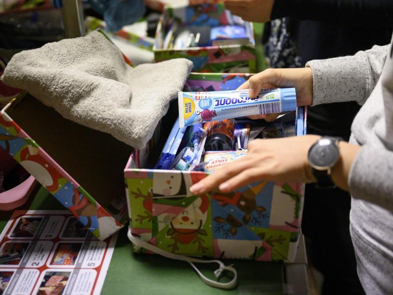Aktion «Weihnachten im Schuhkarton» beginnt in MV