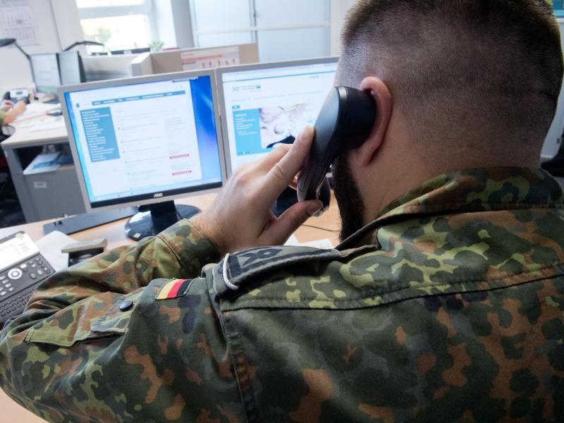 Rund 130 Soldaten unterstützen Gesundheitsämter in MV