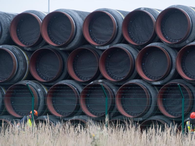 Mukran ist Logistikzentrum für die Baltic Pipe