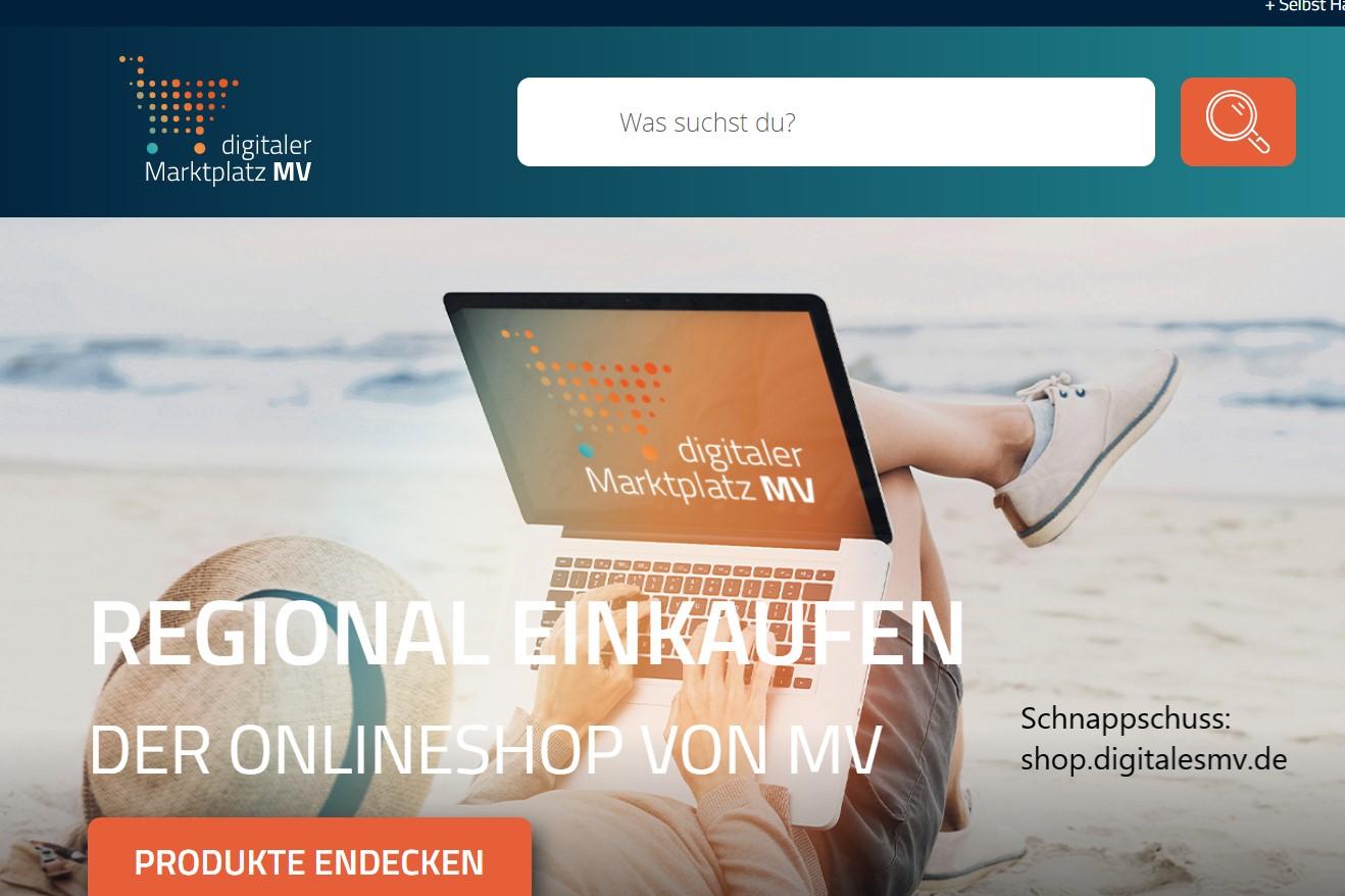 Pegel wirbt für Online-Regional-Versand