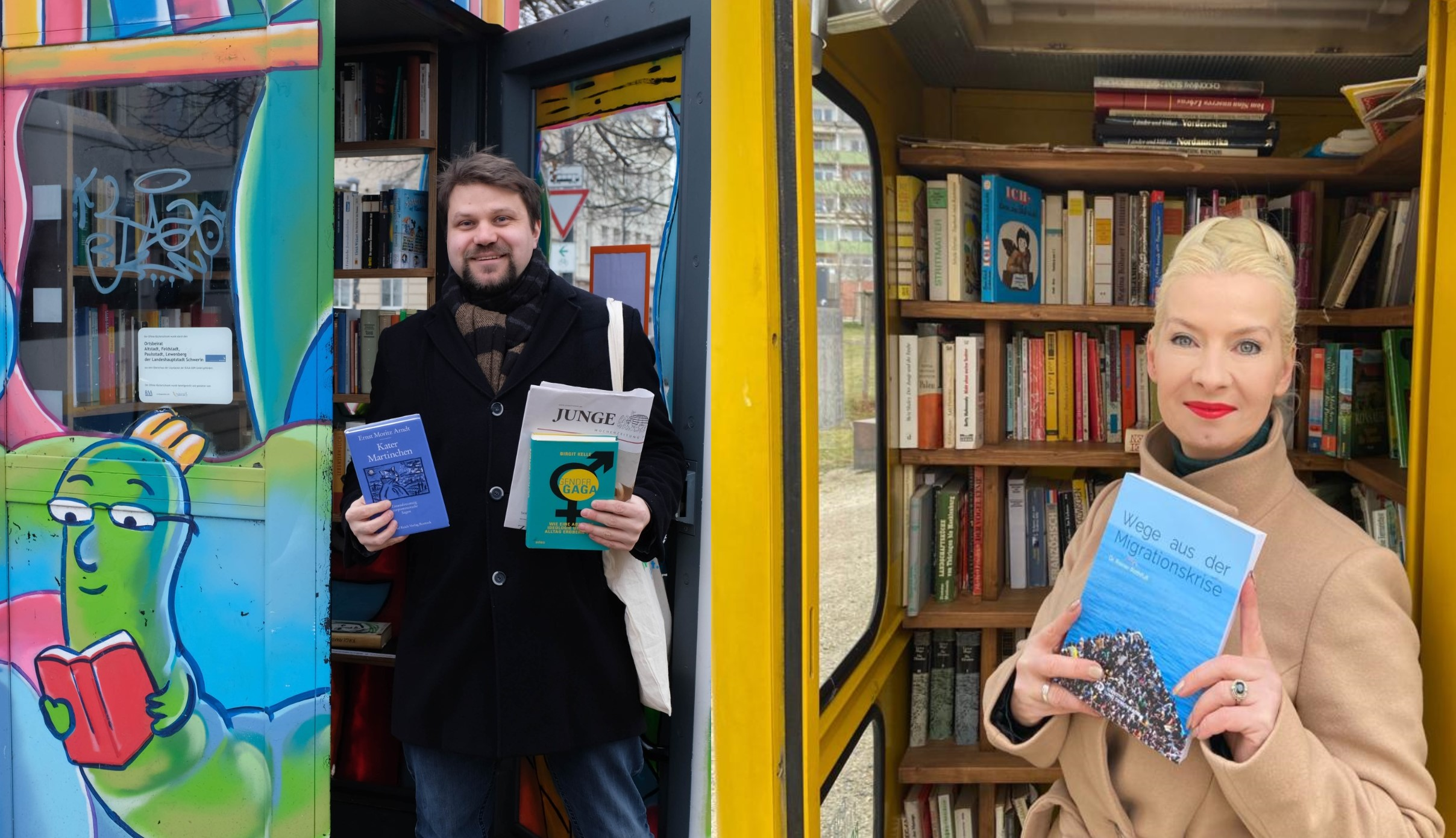 Schweriner AfD startet die Aktion #Bücherfürdeutschland