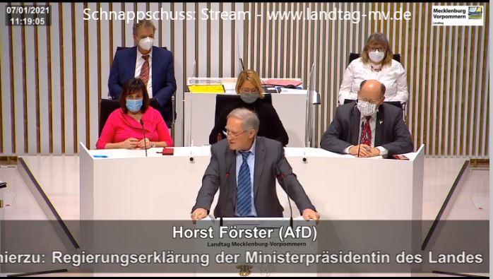 AfD-Richter Förster rechnet mit Schwesig ab