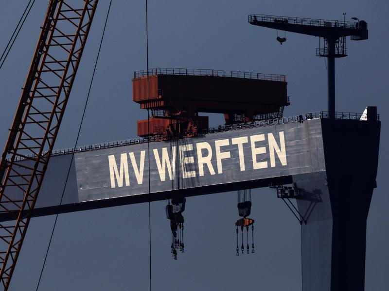 MV Werften erhalten 193 Millionen Euro Kredit