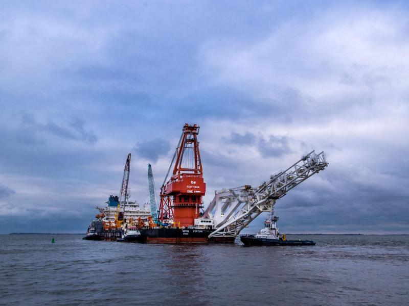 Erstmals US-Sanktionen wegen Nord Stream 2 erwartet