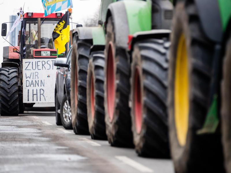 Traktoren-Protest gegen neue Umweltauflagen geplant