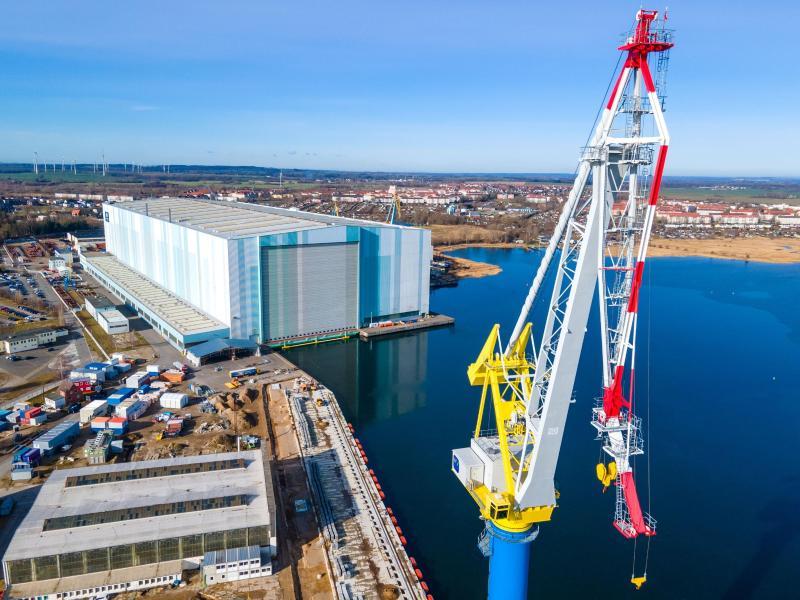 Weitere Überbrückungshilfe für MV Werften
