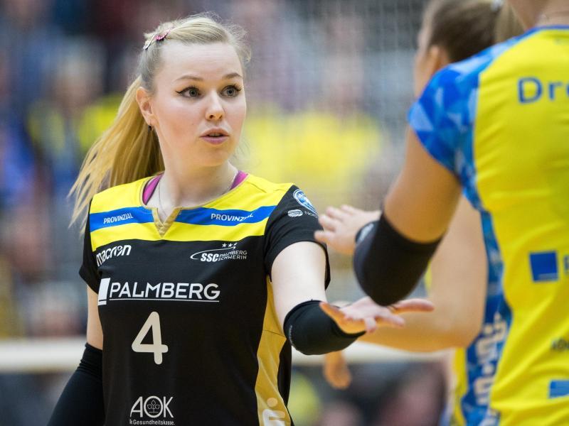 Anna Pogany bleibt beim SSC Palmberg Schwerin