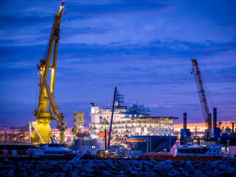 Putin: Erster Strang von Nord Stream 2 fertig verlegt