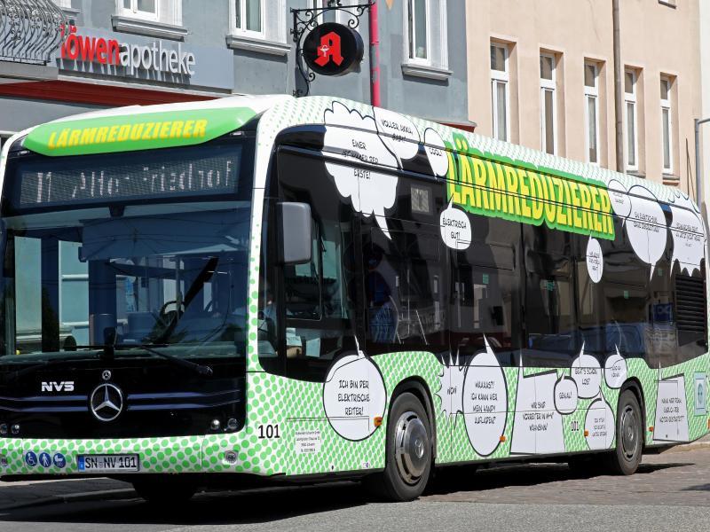 Nur 3 Elektrobusse in MV – Nun kommen weitere hinzu
