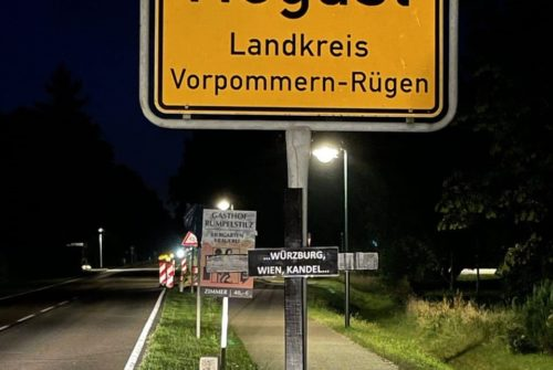 Schwarze Kreuze in Vorpommern