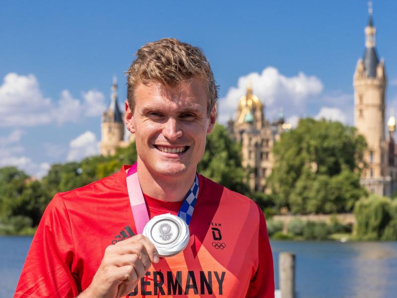 Silbermedaille: Ocik erhält Ehrung der Stadt Schwerin
