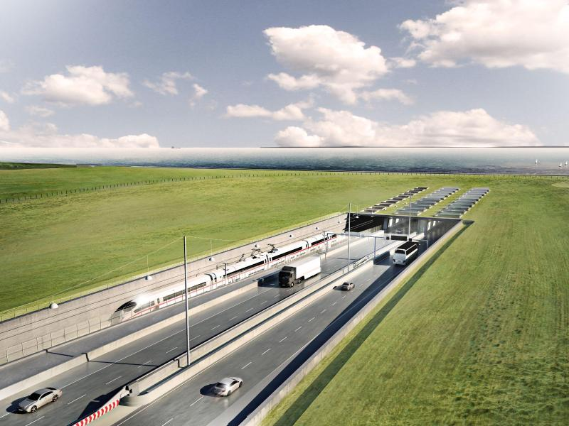 Arbeiten für Ostseetunnel laufen bereits