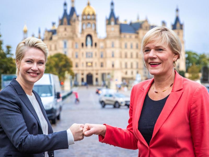 Rot-Rot: Koalitionsverhandlungen beginnen in MV